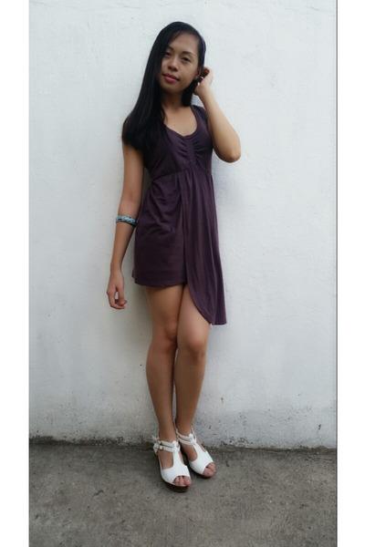 puce dress