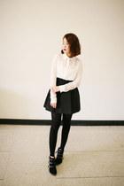 VeryHoney skirt - sam edelman boots