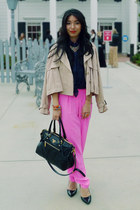 pink mara hoffman pants