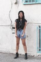 penelopes vintage shorts - penelopes vintage top