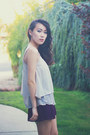 White-studded-forever-21-vest-periwinkle-tiered-crossroads-trading-top