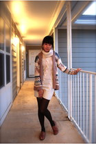 oxfords Urban Outfitters shoes - sweater dress H&M dress