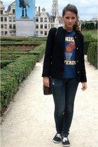 vintage jacket - vintage shirt - DKNY