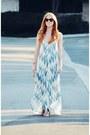 Tan-peep-toe-ankle-steve-madden-boots-sky-blue-dreamlike-maxi-dress
