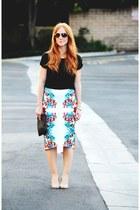 pencil Bisou Bisou skirt - t-shirt