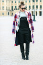 Black-mango-boots-navy-zara-jacket-sky-blue-h-m-trend-sweater