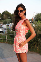 light pink bodysuit