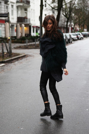 black Jimmy Choo boots