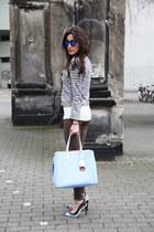 sky blue dior addict christian dior bag - tan plein sud leggings