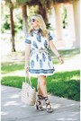 Blue-boho-goodnight-macaroon-dress-light-brown-lace-up-sole-society-sandals