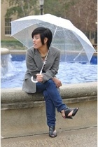 blazer - BDG jeans - Cathy Jean shoes