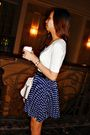 White-rue-21-top-blue-thrifted-skirt-black-charles-and-keith-shoes-white-m