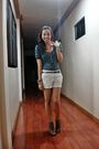 Blue-from-greenhills-top-white-mango-shorts-gray-promise-shoes