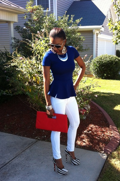 Forever 21 top - J Brand Jeans jeans - Charmin Charlies bag