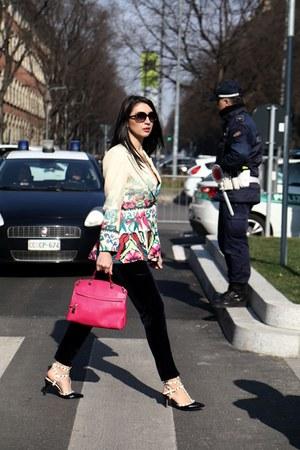 Furla bag - Valentino heels