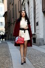 Lucia-rosca-dress-lucia-rosca-coat-stradivarius-heels