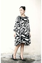 vero  moda zebra print dress