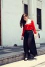 Zara-pants-hk-blouse