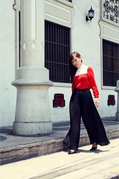 Zara pants - HK blouse