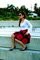 hk Floral skirt