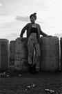 Primadonna-boots-zara-blazer-vintage-pants