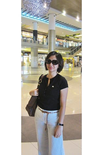 calvin klein sunglasses - Burberry blouse
