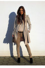 Off-white-coat-neutral-mango-shirt-tan-zara-pants-black-new-look-wedges