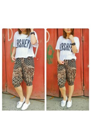 hershey divisoria top - animal print NCCC Department Store pants