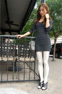 Black-thrifted-dress-white-urban-outfitters-leggings-black-vintage-gucci-pur