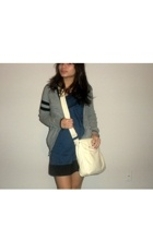 kensie girl dress - BDG sweater - Marc by Marc Jacobs purse