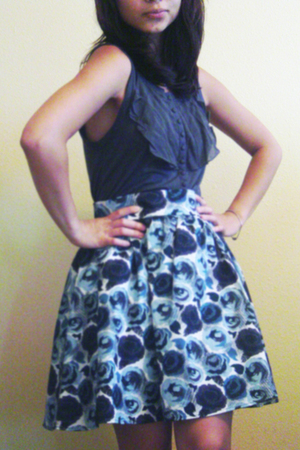 silence and noise top - H&M skirt