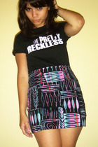 t-shirt - BDG skirt