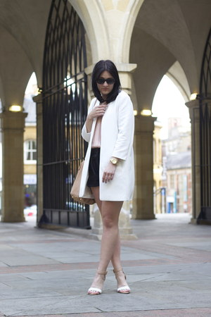 Zara coat - Zara shorts - Zara sandals