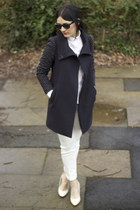 Zara coat - H&M shoes - Zara shirt - Zara pants