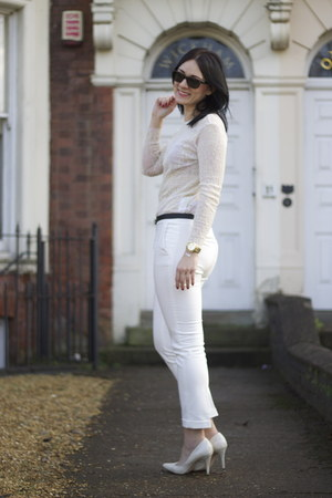 Zara pants - H&M shoes - Zara top