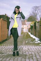 Zara jumper - Zara boots - Zara coat - Topshop jeans