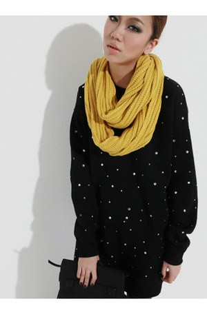 Taobao bag - Taobao sweater - Taobao scarf