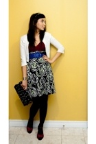 Urban Behaviour sweater - Urban blouse - Urban Outfitters belt - vintage skirt -