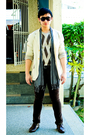 Beige-dean-and-trent-blazer-beige-perry-ellis-sweater-brown-zara-pants-bro