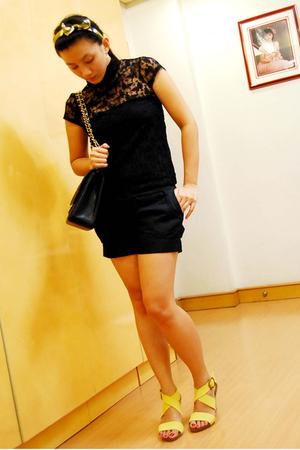 Zara - thrifted - forever 21 - Bayo - Zara - Chanel calf skin 255