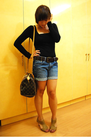 forever 21 - H&M - Bayo - Hong Kong Sogo - Louis Vuitton Speedy with strap