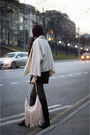 Black-riarosa-boots-ivory-idalaida-jacket-neutral-h-m-bag