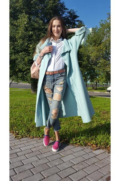 light blue idaLaida coat