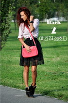 bag - skirt - sneakers