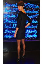 Wolford tights - Anna studio dress - asos heels