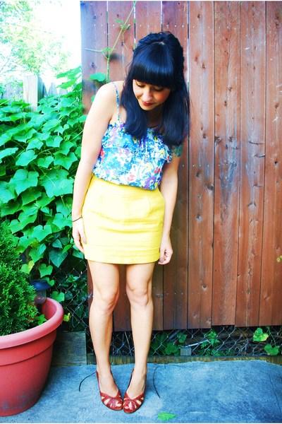 Forever21 skirt - Forever21 top