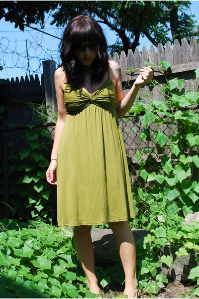 forever 21 dress - Payless shoes - forever 21 sunglasses