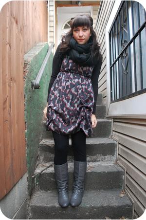gray kensie dress