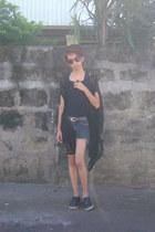 vintage shoes Primadonna shoes - studded shorts - leopard print sunglasses