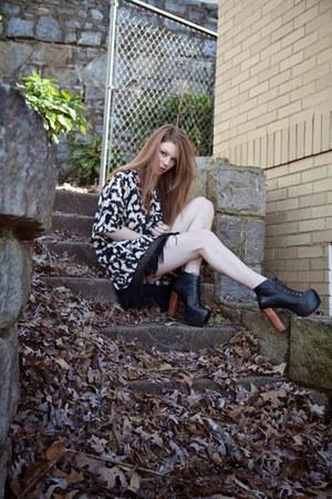 H&M blouse - Jeffrey Campbell heels